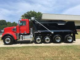 freightliner dump truck 2018 freightliner 122sd quad dump with rs body triad freightliner