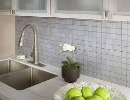 adhesive backsplash self stick kitchen backsplash tiles in peel