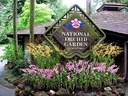 Singapore Botanic Gardens Location National Orchid Garden Singapore Botanic Gardens The Garden