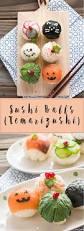 sushi balls temarizushi halloween style chopstick chronicles