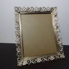 shop ornate metal picture frames on wanelo