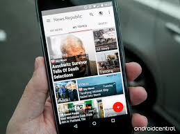 news widgets for android news republic news republic listed as part of the best 9 news