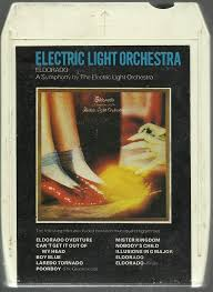 electric light orchestra eldorado vintage 8 eight track tape the electric light orchestra jeted 400