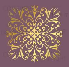 Floral Wall Stencils For Bedrooms Best 25 Large Wall Stencil Ideas On Pinterest Wall Stencil