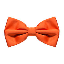 orange bow tie pre suspenderstore