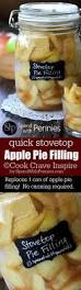 apple pie filling recipe made on the stovetop