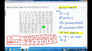 order of elements and quotient group example 3 youtube