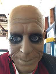 rare 6 feet halloween butler jeeves in box u0026 complete talks u0026 head