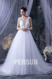 princesse robe de mariã e robe de mariage princesse décoleeté carré avec bretelle en tulle