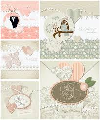 wedding invitations vector decorative wedding invitations vector vector graphics