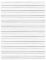 dashed line handwriting practice paper printable worksheet for