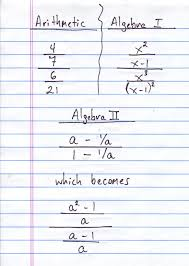 fractions math ideas of algebraic fractions with two answers