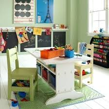 kids art table and chairs kids arts and crafts table kids craft table pottery barn kids art