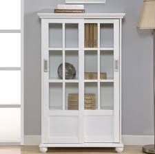 price white bookcase with doors cheap white bookcase with doors