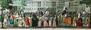 Ottoman Officials Ottoman Empire Eid Procession The March Of The Sultan From The