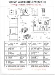eb15b coleman electric furnace parts u2013 hvacpartstore