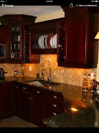 Kitchen Color Ideas With Cherry Cabinets Traditional Dark Wood Cherry Kitchen Cabinets 53 Kitchen Design