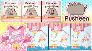 where to buy blind boxes pusheen cat bee and puppycat blind boxes kawaii