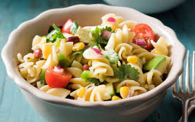 mexican pasta salad with lime dressing san remo