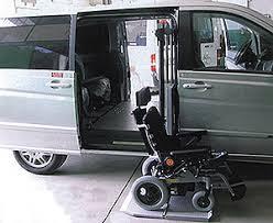 pedana per disabili autocarrozzeria