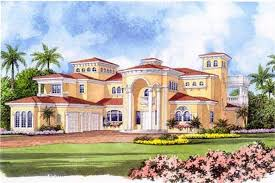 mediterranean home plans luxury home with 5 bdrms 7893 sq ft floor plan 107 1219