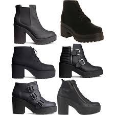 womens boots h m platform boots