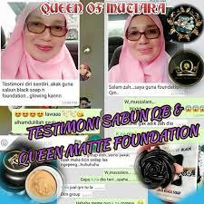 Sabun Qm matte foundation foundation murah selamat dan berkesan