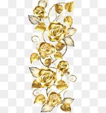 gold flowers golden png vectors psd and icons for free pngtree