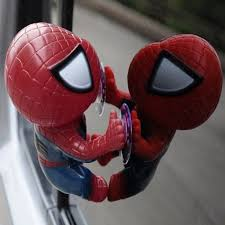 2 color spider man toy climbing spiderman window sucker spider