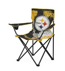 amazon com nfl pittsburgh steelers tween camp chair toys u0026 games