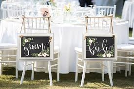 wedding chair signs wedding vendor directory mid south