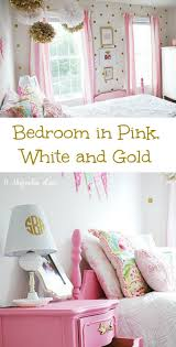 White And Gold Home Decor Beautiful Pink White And Gold Bedroom 56 About Remodel Home