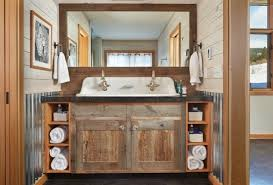 bathroom americana vanity in whitewash farmhouse vanities and sink