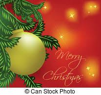 clip art vector of fern christmas tree green christmas tree