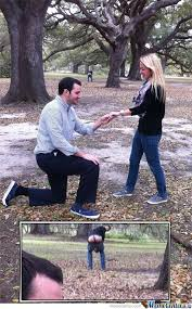 Meme Marriage Proposal - marriage proposal photobomb by robertormx meme center