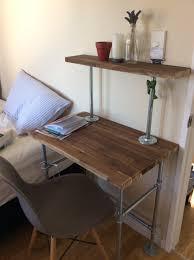 Diy Wood Desk by Smart Living Tip Diy Wood U0026 Steel Desk I Talk Too Much My Mouth