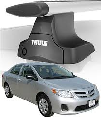 2010 toyota corolla roof rack 2010 corolla roof rack complete system thule traverse