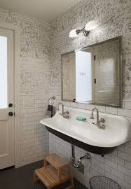 funky bathroom wallpaper ideas i love this bathroom sink modern farmhouse pool bath bathroom