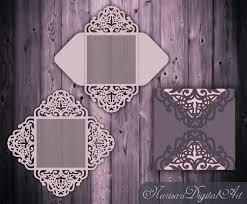 Fold Envelope by Wedding Invitation Card Templatequinceanera By Narisaridigitalart