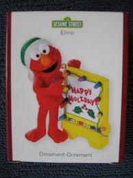 amazon com sesame street heirloom elmo christmas ornament home