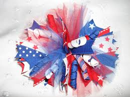 fourth of july hair bows 4th of july spiked hair bow infobarrel images