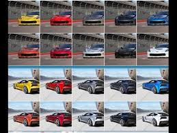 2015 corvette z06 colors gm authority youtube