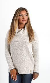 cowl sweater jadelynn boyfriend cowl neck sweater in