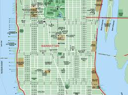 map of manhattan manhattan ny map major tourist attractions maps