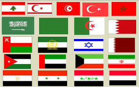 Flags Countries Slideshare Middle East Flags Population U0026