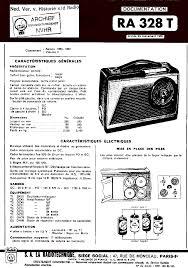 service siege social radiola ra328t portable receiver 1958 sm service manual
