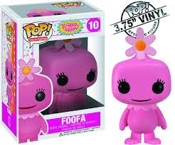 may122089 pop yo gabba gabba foofa vinyl fig previews