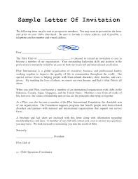 doc 707953 invitation letter templates u2013 invitation letter