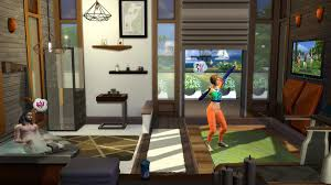 the sims 4 fitness stuff short gameplay trailer sims online