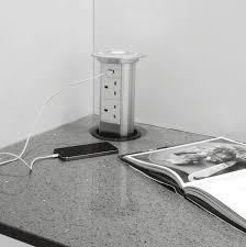 Pop Up Electrical Outlet For Kitchen Island Motorised Pop Up Socket